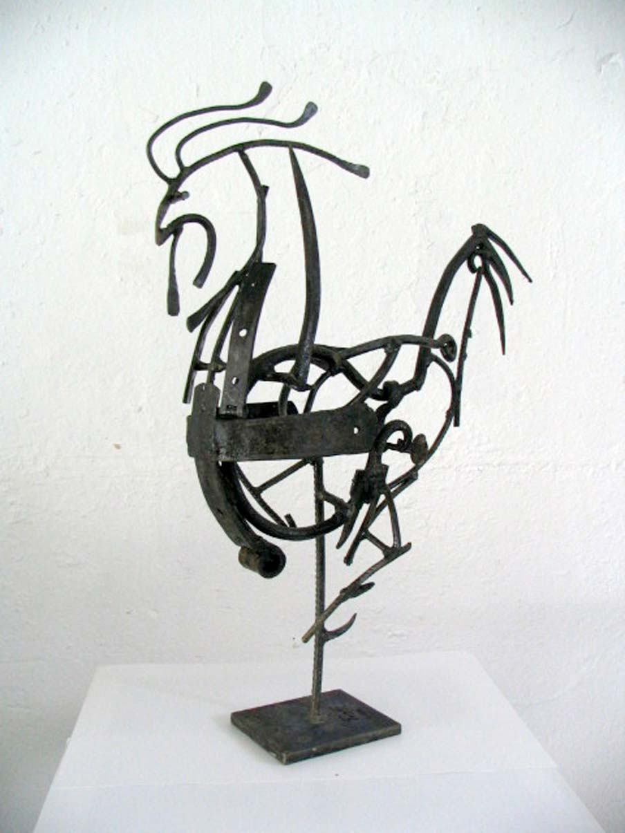 Petelin – 2006 – železo / iron – privatna zbirka / private collection